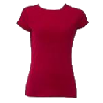 Plain Shirt - Dark Red